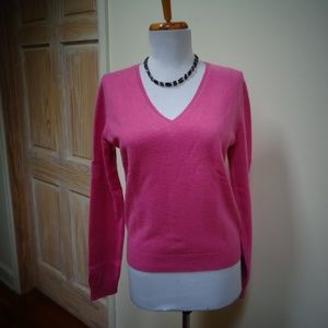 EUC LORD & TAYLOR 100% CASHMERE SWEATER SIZE M